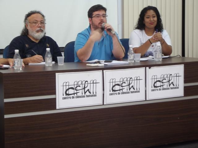 Relação Midiática e Migração venezuelana são temas discutidos em mesa de debates na UFRR