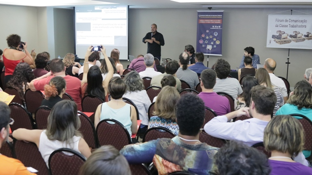 Ascom da SESDUF-RR participa do V Seminário Unificado de Imprensa Sindical e do 3º Encontro Nacional de Jornalistas Sindicais em Brasília