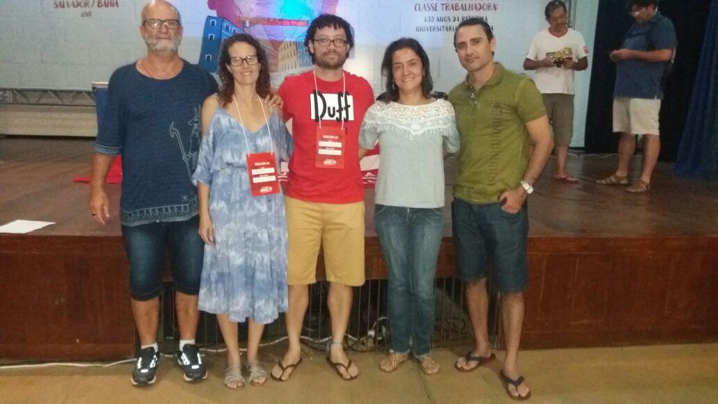 Professores da UFRR representam Seção Sindical em Congresso Nacional
