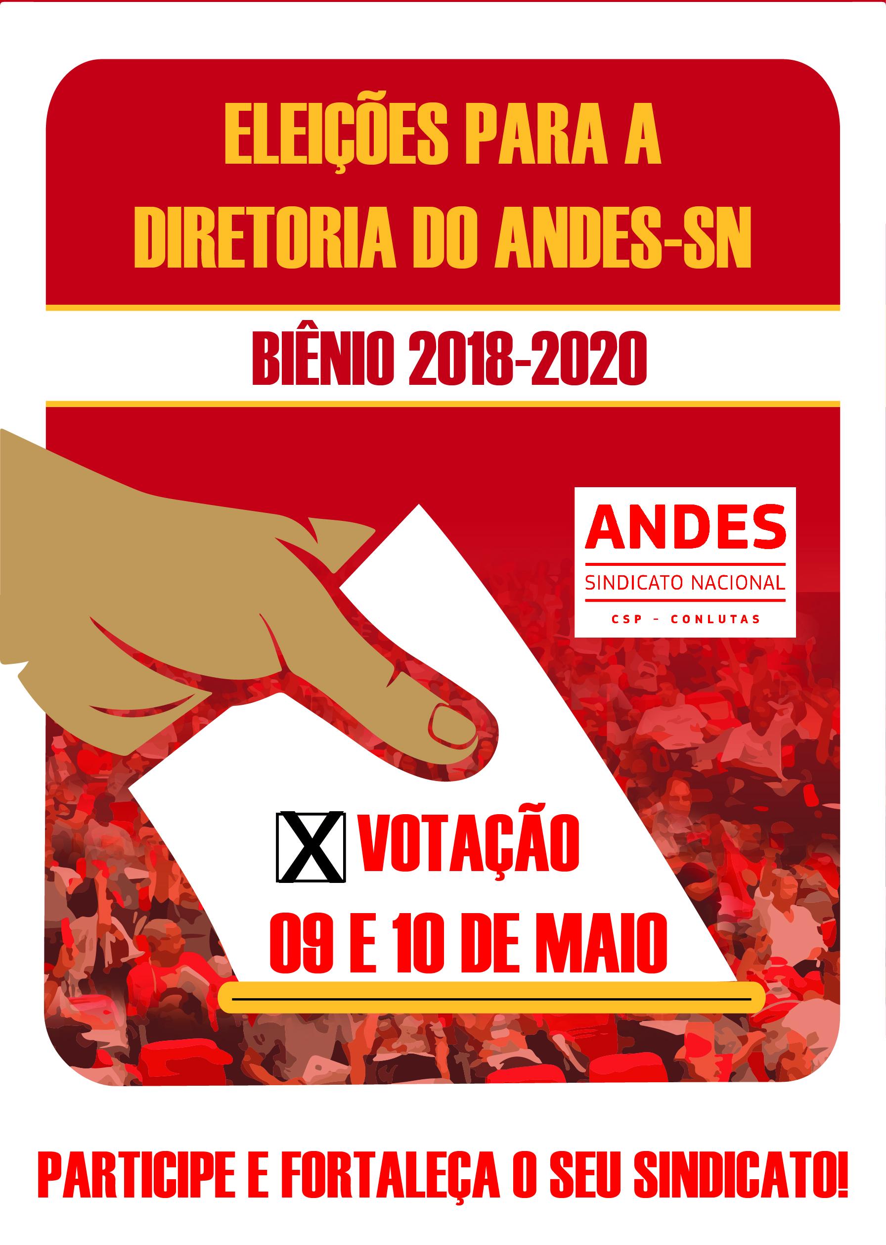 Definido Local de votação para a Eleição da nova diretoria do ANDES-SN