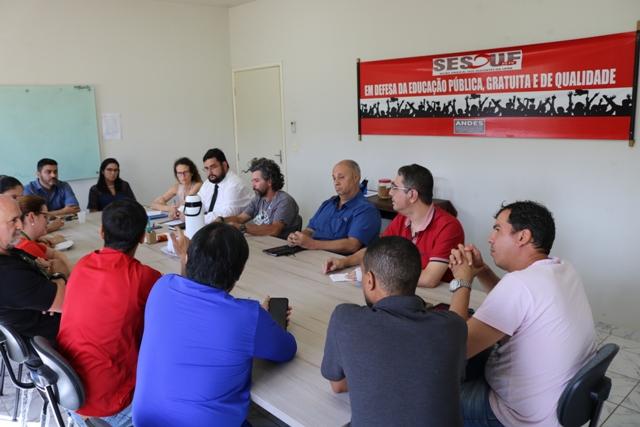Diretoria e Docentes da SESDUF-RR realizam reunião com equipe da UNIMED FAMA