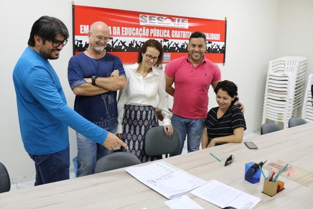 SESDUF-RR implementa projeto de ampliação de sede