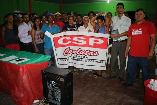 CSP Conlutas realiza Assembleia para fundação da Associação dos Imigrantes venezuelanos em Roraima