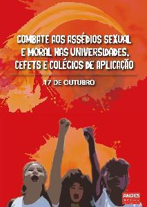 17 de outubro: Dia de Combate aos assédios sexual e moral