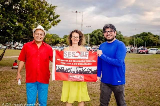 """SESDUF-RR participa de Ato Unificado """"Por Nossos Direitos"""""""