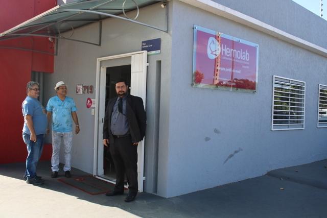 Comissão da SESDUF-RR realiza visita em laboratórios clínicos prestadores de serviço da UNIMED FAMA