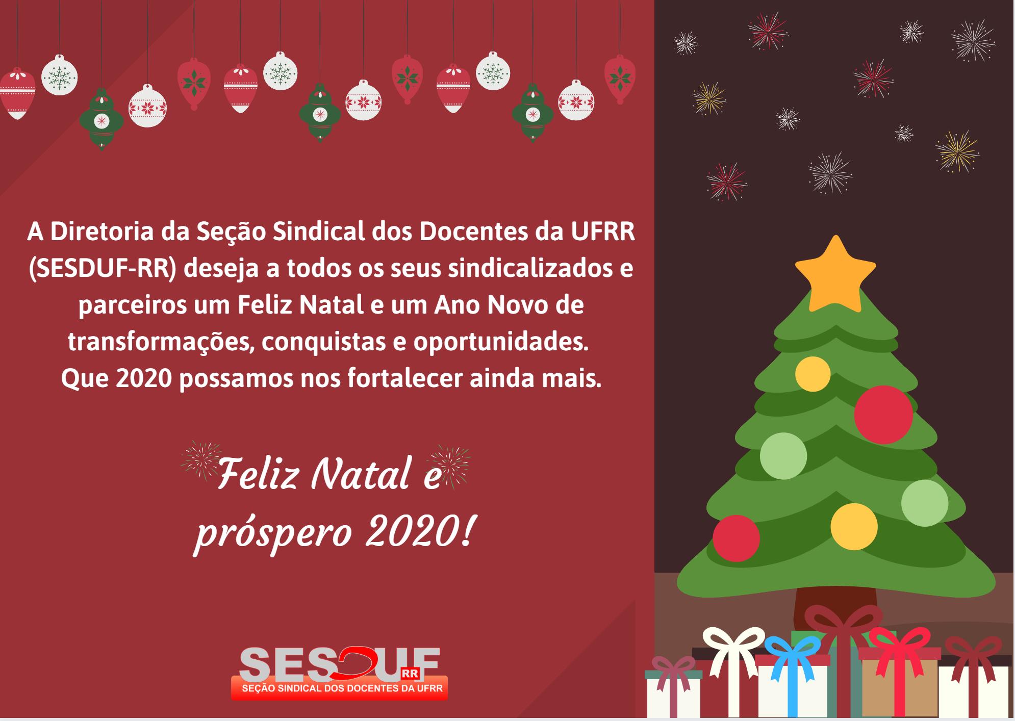 Feliz Natal e boas festas.