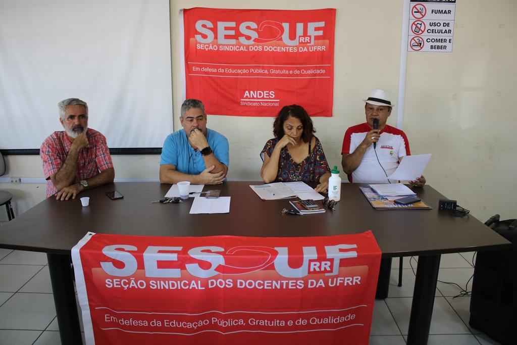 Professores da UFRR aderem à Greve da Educação no dia 18 de março
