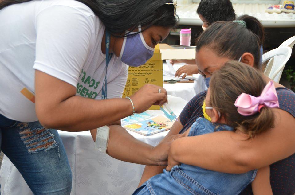 Campanha de vacinação contra a gripe imuniza 560 pessoas na UFRR