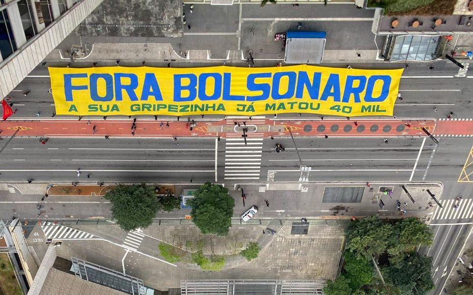 Final de semana teve novos atos contra o fascismo, racismo e Bolsonaro