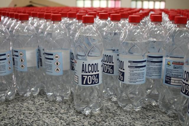 SESDUF-RR realiza realiza 2º etapa de doações de álcool e máscaras em drive-thru nesta sexta-feira (19).