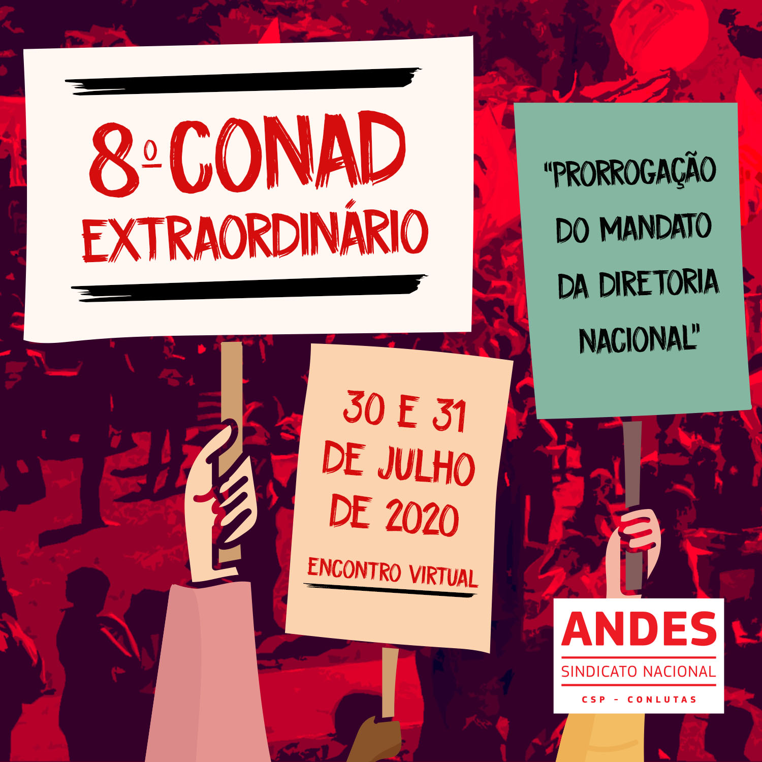 Carta do 8º Conad Extraordinário do ANDES-SN