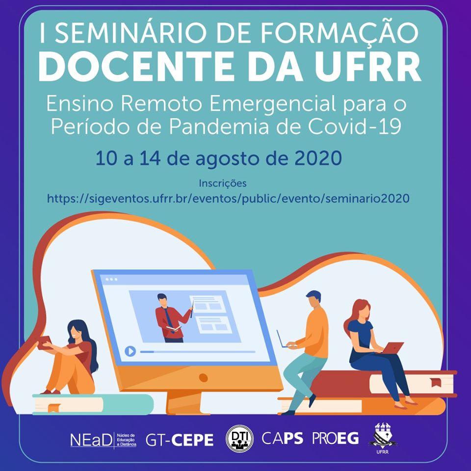I Seminário de Formação Docente para os professores da UFRR recebe inscrições até 6/8.