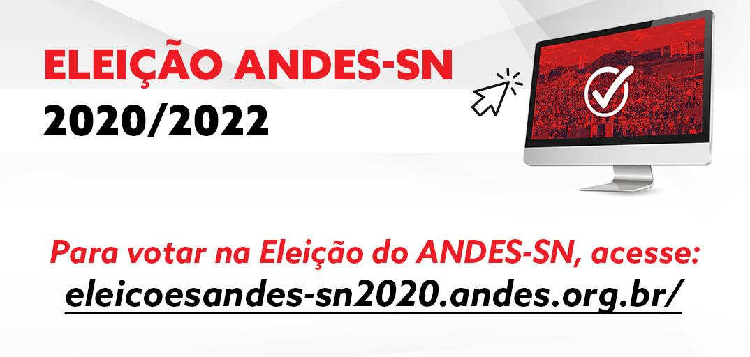 ELEIÇÕES DO ANDES-SN