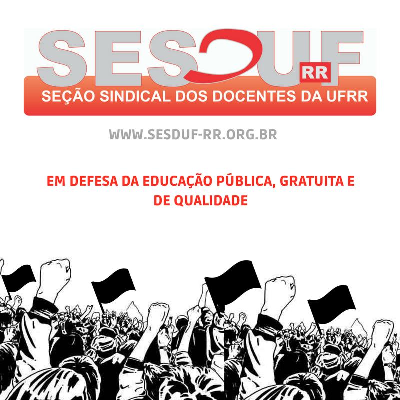 SESDUF-RR pública edital para eleição de nova diretoria biênio 2021-2023